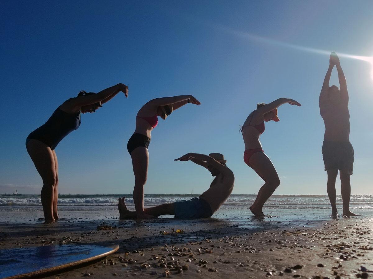 CGSI participants hit the beach!