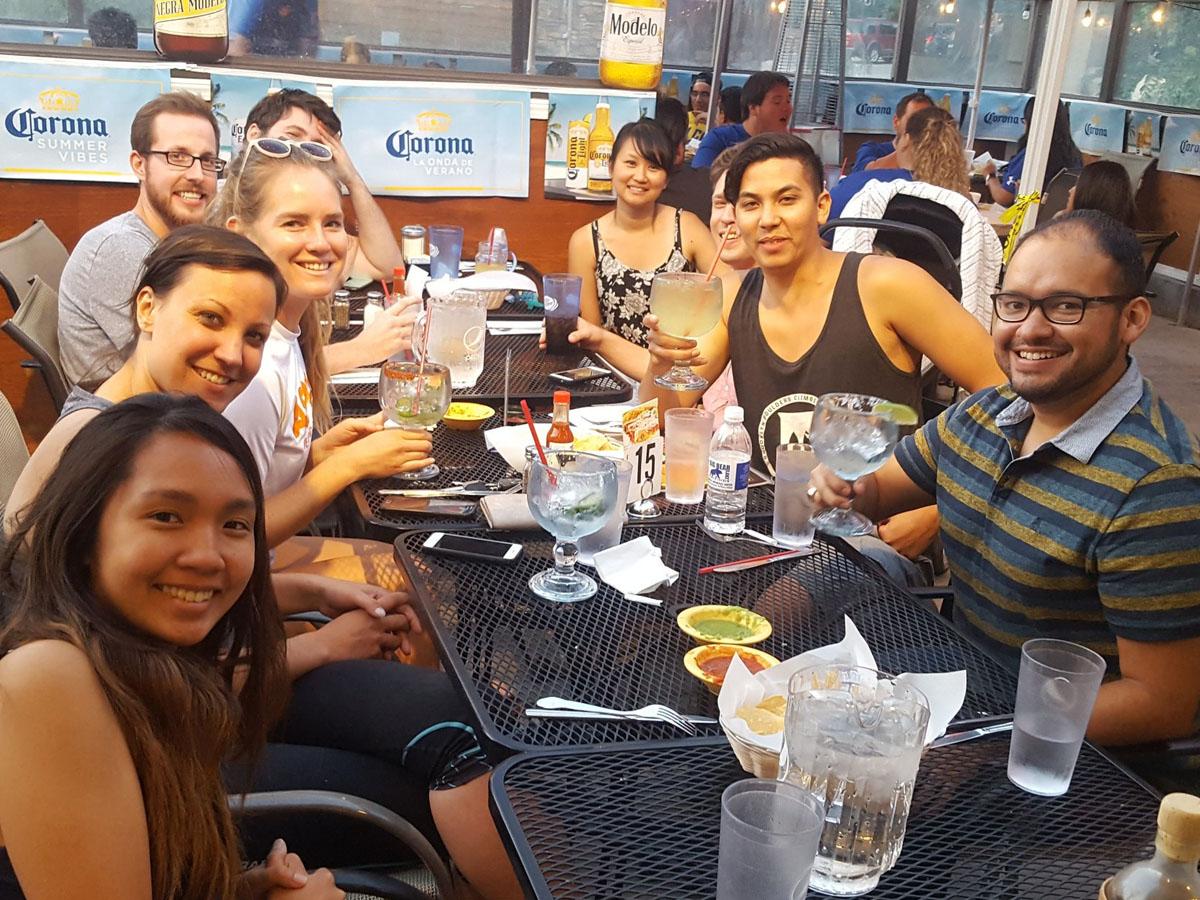 Retreat Dinner at Azteca Grill in Big Bear, California